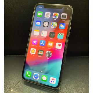 アイフォーン(iPhone)の★残債なし iPhoneX 256GB シルバー ソフトバンク(スマートフォン本体)