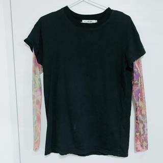 シンアンドカンパニー(SHIN&COMPANY)のSHIN AND COMPANY タトゥー風Tシャツ(Tシャツ/カットソー(半袖/袖なし))