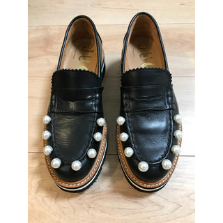ジュコ(JUCO.)のJUCO. パール付きローファー(ローファー/革靴)