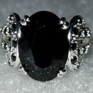BlackサファイアdesignRing (リング(指輪))