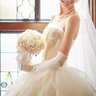 ヴェラウォン(Vera Wang)の[Wedding] グローブ・オフホワイト(ウェディングドレス)
