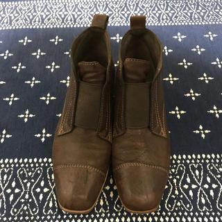 サヤラボキゴシ(SAYA / RABOKIGOSHI)のSAYA RABOKIGOSHI works ショートブーツ 23cm(ブーツ)