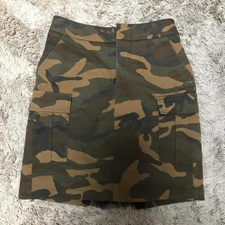 ハンキーパンキー(HANKY PANKY)のAima+saie  タイトスカート  迷彩(ひざ丈スカート)