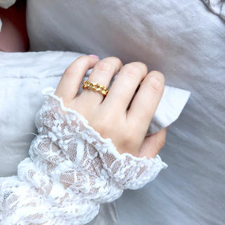 gold chain ring(リング)