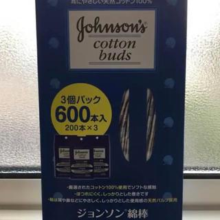 ジョンソン綿棒600本(綿棒)