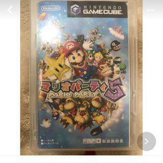 ニンテンドーゲームキューブ(ニンテンドーゲームキューブ)のマリオパーティー5 ソフト(PCゲームソフト)