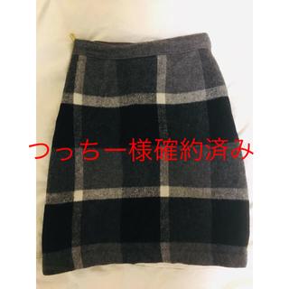 ドゥアルシーヴ(Doux archives)の【美品】doux archives 膝丈スカート(ひざ丈スカート)
