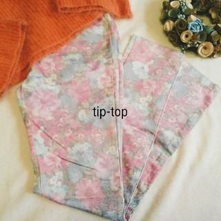 ティップトップ(tip top)の期間限定♥花柄♥新品パンツ(カジュアルパンツ)