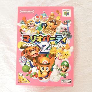 ニンテンドウ64(NINTENDO 64)のNINTENDO64/マリオパーティ2【起動確認済】(家庭用ゲームソフト)