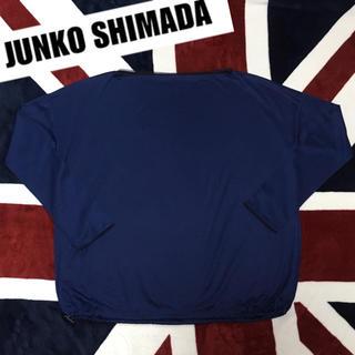 ジュンコシマダ(JUNKO SHIMADA)のレディース  ゆったり ロンT 新品(Tシャツ(長袖/七分))