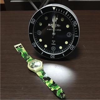 A BATHING APE - A BATHING APE BAPEX 置き時計 腕時計