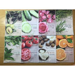 REAL NATURE MASK SHEET 8枚セット