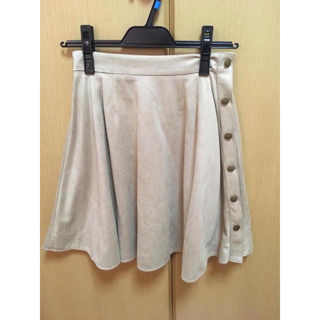 MERCURYDUO(マーキュリーデュオ)の新品未使用 MERCURYDUO スエードフレアスカート レディースのスカート(ミニスカート)の商品写真