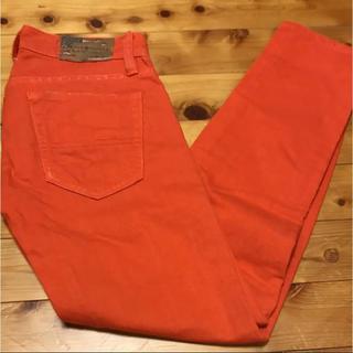 デニムアンドサプライラルフローレン(Denim & Supply Ralph Lauren)の美品 denim&supply デニム パンツ オレンジ(デニム/ジーンズ)