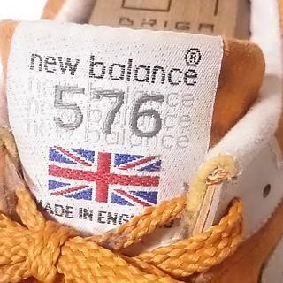 ニューバランス(New Balance)の 定3万名作イングランド製!ニューバランス576レザースニーカービンテージ! (スニーカー)