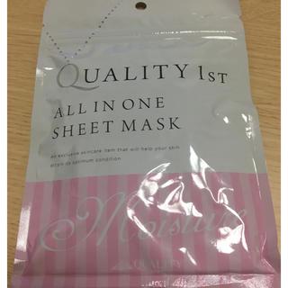 クオリティファースト(QUALITY FIRST)のオールインワン シートマスク(パック / フェイスマスク)