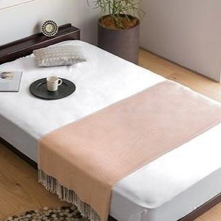 すのこベッド ベッドフレーム シングル セミダブル ダブル 木製 無垢材 脚付き(すのこベッド)
