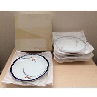 コウランシャ(香蘭社)の香蘭社 オーキッドレース・ケーキ皿セット5枚(径19.5cm)(食器)