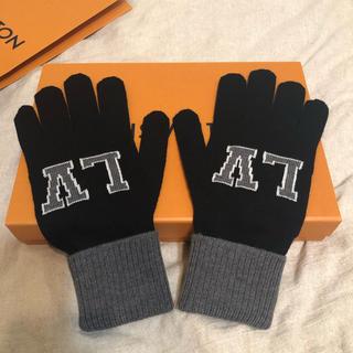 ルイヴィトン(LOUIS VUITTON)の専用ページ 新作 新品 正規品 メンズ ヴィトン 手袋 ロゴ ニット(手袋)