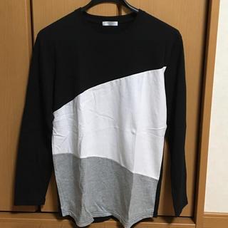デシグアル(DESIGUAL)のキャサリンハムネット カットソー  ロングTシャツ Mサイズ(Tシャツ/カットソー(七分/長袖))