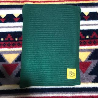未使用 イルビゾンテ ノベルティー ブランケット 緑 グリーン