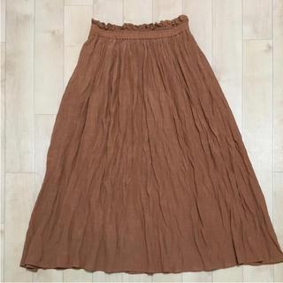 シューラルー(SHOO・LA・RUE)のシューラルー 可愛いアースカラーのロングスカート(ロングスカート)