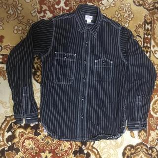 ザリアルマッコイズ(THE REAL McCOY'S)のリアルマッコイズ ブラックウォバッシュシャツ ジョーマッコイ(シャツ)