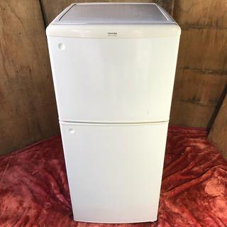 トウシバ(東芝)の近郊送料無料♪ 東芝 120L 2ドア冷蔵庫 ホワイト(冷蔵庫)