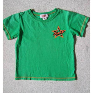 アナップキッズ(ANAP Kids)のANAPkidsグリーンTシャツ/110(Tシャツ/カットソー)