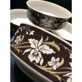 サンゴ(sango)の昭和レトロ  Sango  M.B 花柄茶鉢  4つ 小鉢(食器)
