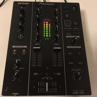 パイオニア(Pioneer)の【人気】Pioneer DJM350 DJミキサー 15年製(DJミキサー)
