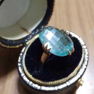 K18  ミントグリーン  リラコ様専用(リング(指輪))