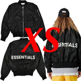 フィアオブゴッド(FEAR OF GOD)のfog essentials ボンバージャケット xs(フライトジャケット)