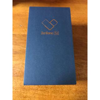 アンドロイド(ANDROID)の未開封新品 ZenFone 5Z シルバー 国内版SIMフリー(スマートフォン本体)