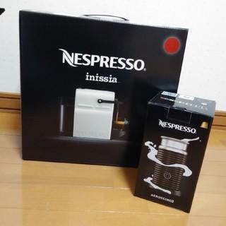 ネスプレッソ イニッシア+エアロチーノセット お試しカプセル付き(エスプレッソマシン)