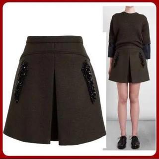 ヌメロヴェントゥーノ(N°21)の美品 N°21 ヌメロヴェントゥーノ スカート 38(ミニスカート)