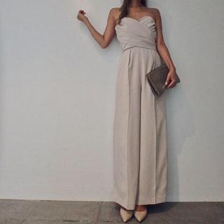 ラグナムーン(LagunaMoon)の【lagunamoon】Lady クロスベアパンツドレス(その他ドレス)