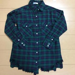 デュレル(Durer)のDurer チェックシャツ シャツ ネルシャツ(シャツ/ブラウス(長袖/七分))