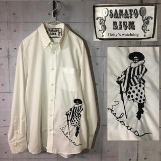 サナトリウム(SANATORIUM)の[美品]サナトリウム  ワンポイント刺繍 長袖シャツ(シャツ)