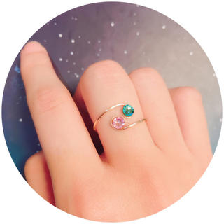 ワイヤーリング カラーオーダー♪ 指輪 リング(リング)