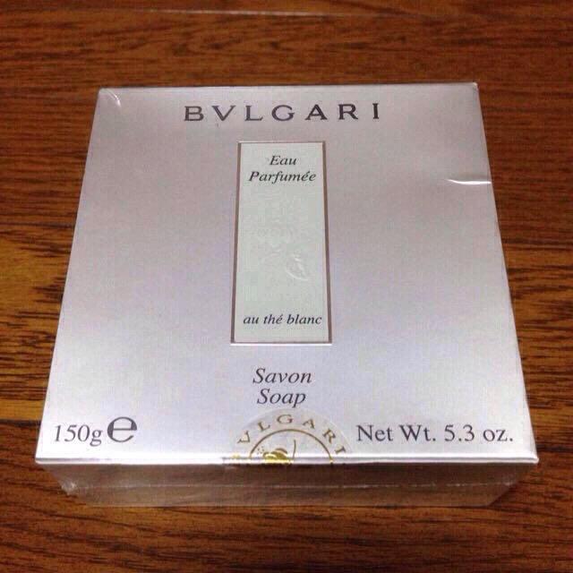 BVLGARI(ブルガリ)のブルガリ☺︎石鹸 コスメ/美容のボディケア(ボディソープ / 石鹸)の商品写真