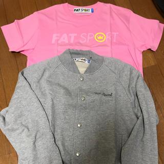 エフエーティー(FAT)のFAT スウェット スタジャン  Tシャツ(Tシャツ/カットソー(半袖/袖なし))