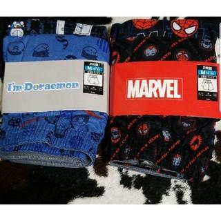 ディズニー(Disney)のドラえもん&スパイダーマン Mサイズ 前開きトランクス 4枚セット MARVEL(トランクス)