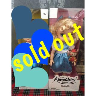 ディズニー(Disney)のアニメータードール ロングボックス シンデレラ 人形 ドール 初期  2(キャラクターグッズ)