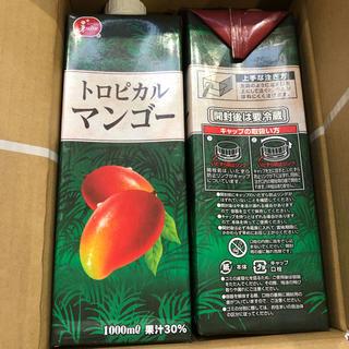【トロピカルマンゴージュース♪】1000ml×6本入り!!!(ソフトドリンク)