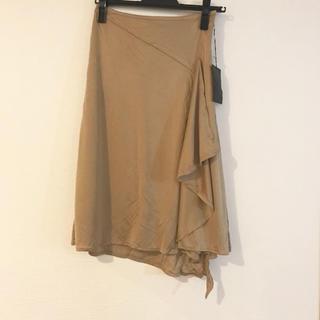 アールエフ(R・F)の新品A.R★ラッフルアシメスカート(ひざ丈スカート)