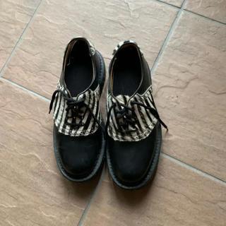ジョージコックス(GEORGE COX)のジョージコックス ゼブラ柄 皮 (ローファー/革靴)