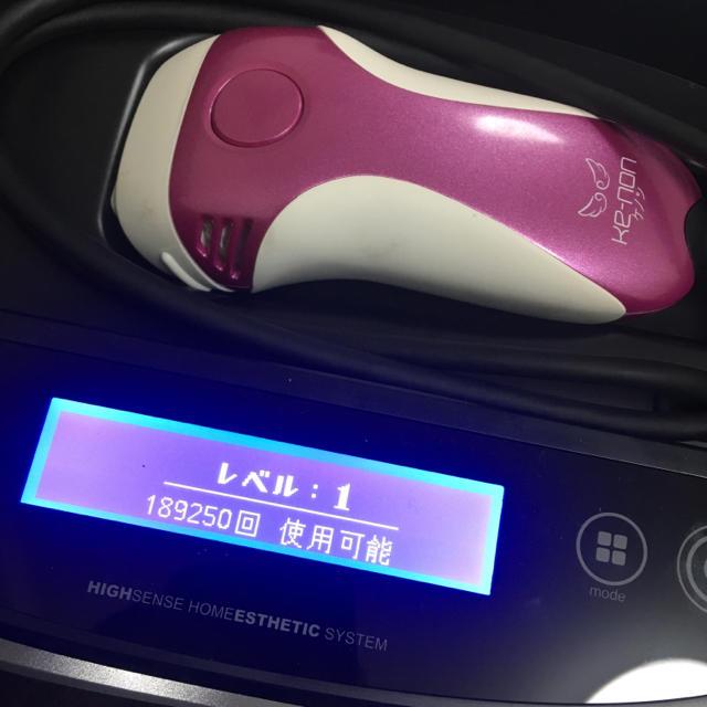 Kaenon(ケーノン)のKe-non ケノン 脱毛器 スマホ/家電/カメラの美容/健康(ボディケア/エステ)の商品写真