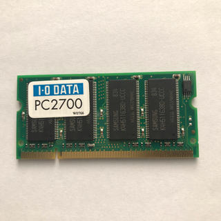 アイオーデータ(IODATA)の SDD333-512MB メモリー  アイオーデータ製(ノートPC)