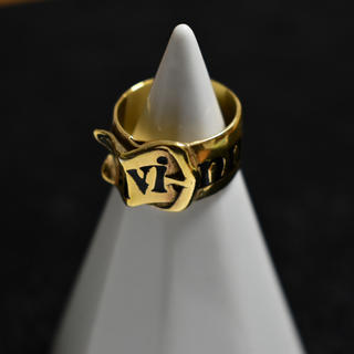 ヴィヴィアンウエストウッド(Vivienne Westwood)のベルトリング ゴールド M ヴィヴィアンウエストウッド  r103(リング(指輪))